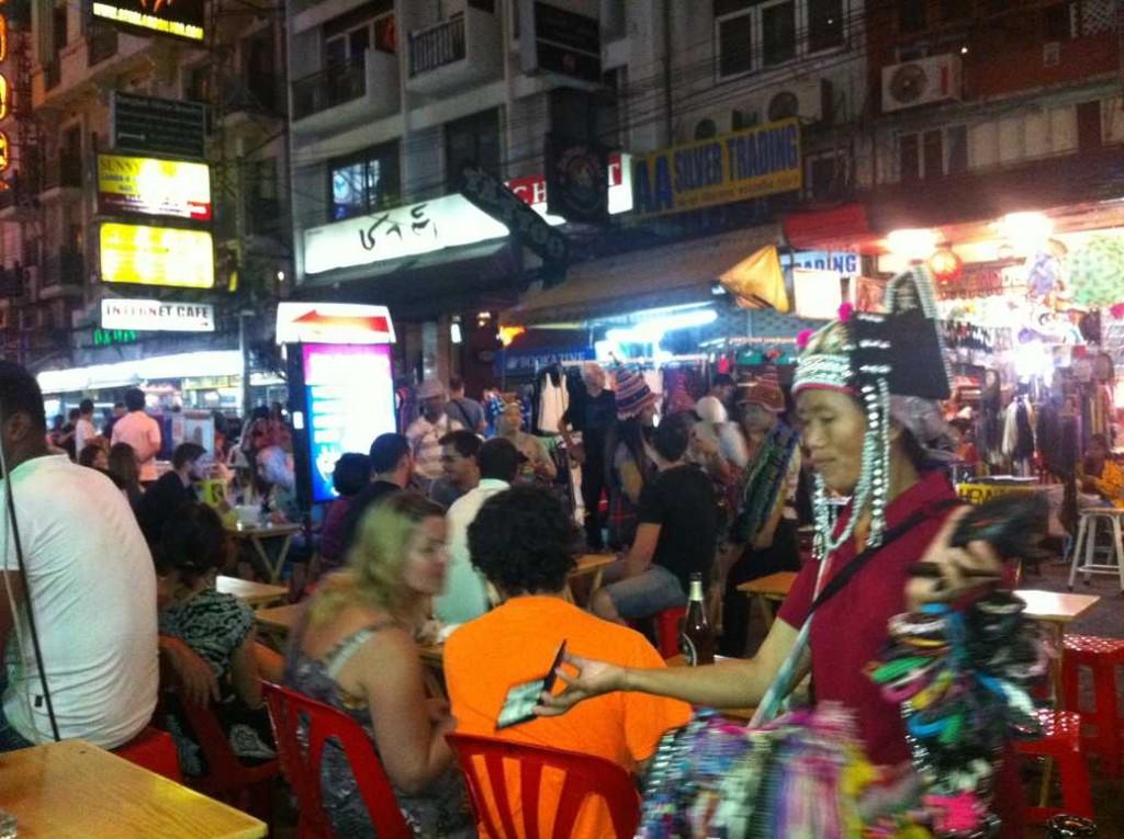 ou sortir a bangkok, khao san road