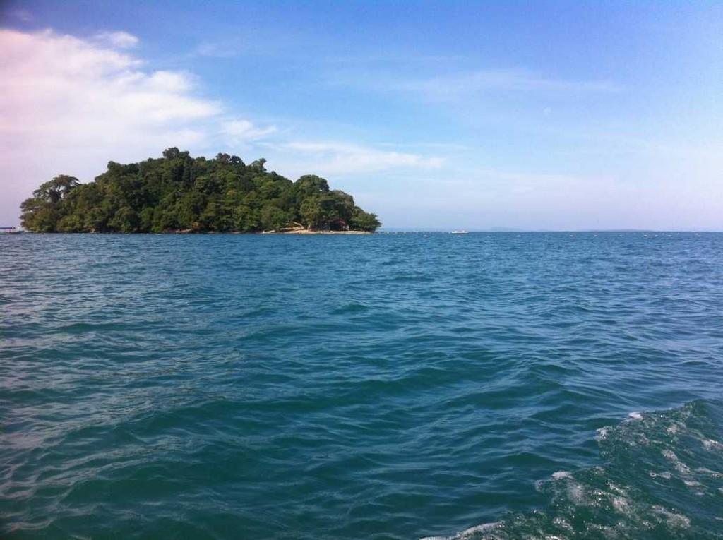 Les plages au Cambodge