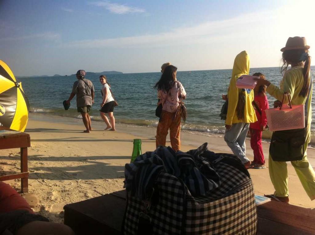 plage du cambodge à sihanoukville