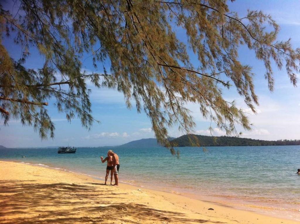 plage du cambodge, ile proche de Sihanoukville