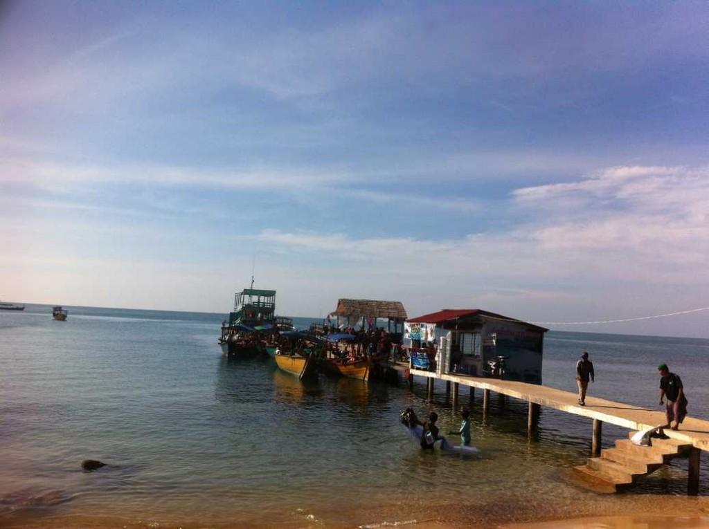 plage sihanoukville au cambodge