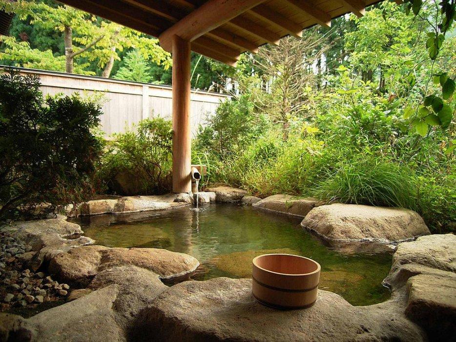 onsen japonais privé