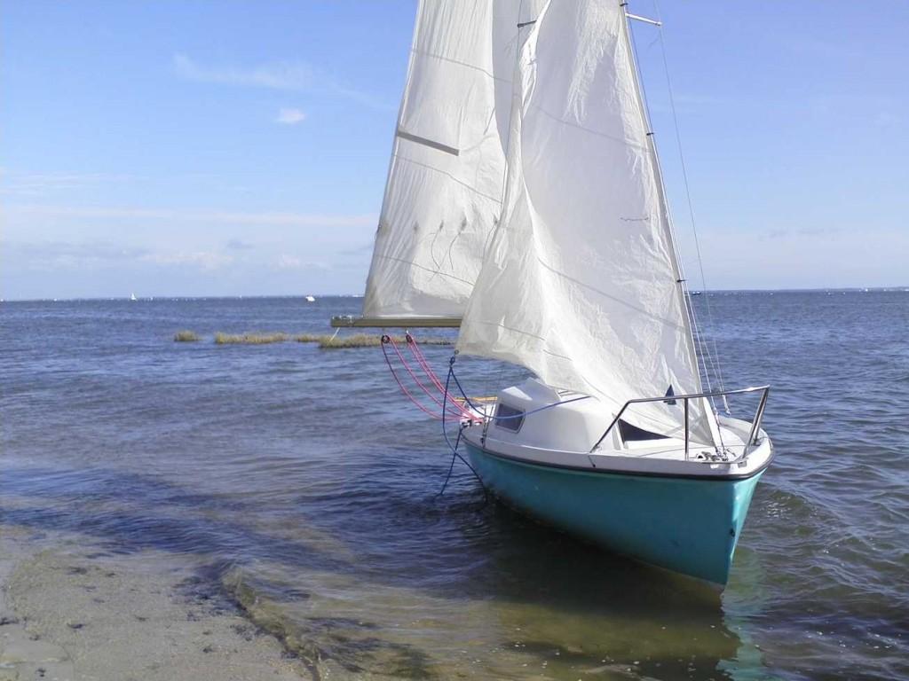faire du bateau au bassin d'Arcachon