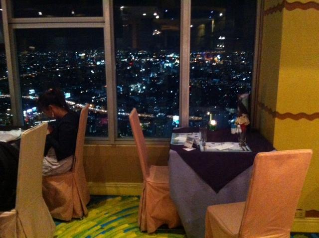 table baiyoke tower restaurant