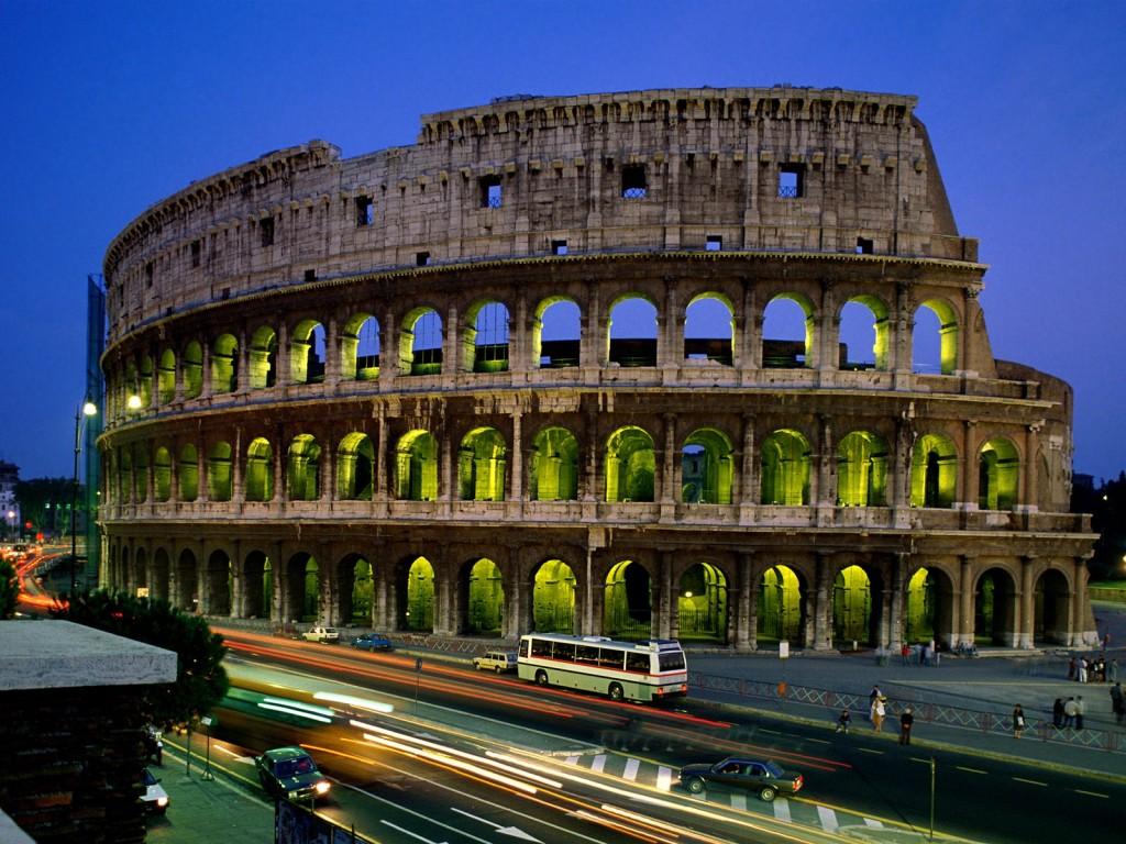 colisée de la rome antique de nos jours