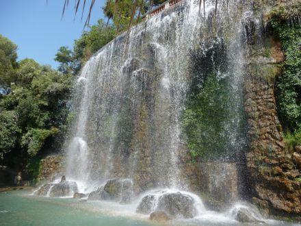 visite de nice et de sa cascade